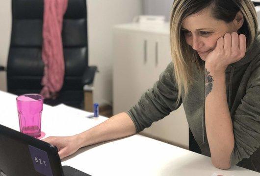 Kako je Jelena napustila stalan i siguran posao, zatvorila oči i upustila se u prekvalifikaciju